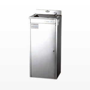bebedero de agua en acero inoxidable ideal para colegios y empresas disponible en bogtá